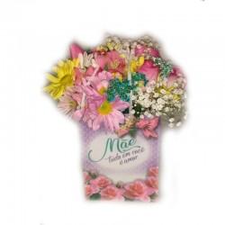 Mix de Flores Mãe te Amo!