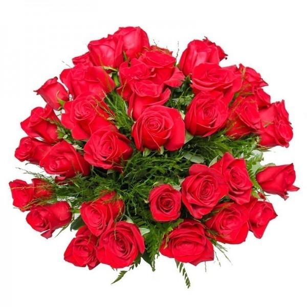 Buquê com 3 dúzias de Rosas Importadas